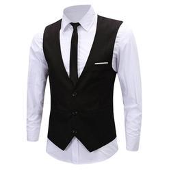 Мужская классическая формальная Бизнес Slim Fit Цепи платье жилет костюм смокинг жилет