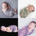 New Arrival Mohair Newborn Photography Wraps cloth All Accessories for Babies Crochet Mohair Shower Gift Bady Photo Props