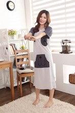 Free Shipping2016 New  summer style Nightgown Nightdress pijama Ladies Sleepwear Women nightwear AZ799