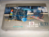M AUDIO Revolution 7 1 Sound Card Digital Coaxial Independent Audio Card