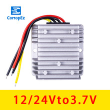 12 V-24 V à 3.7 V 15A DC convertisseur d'alimentation adaptateur Variable 5 V automobile transformateur Module convertisseur de puissance(China)