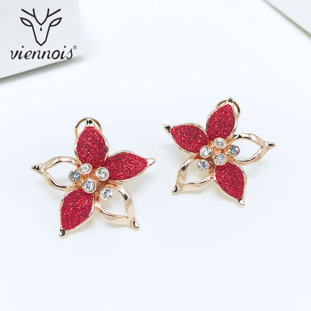Brushed Gold Dipped Cute Star Moon Stud Earrings Small Studs Girls women/'s