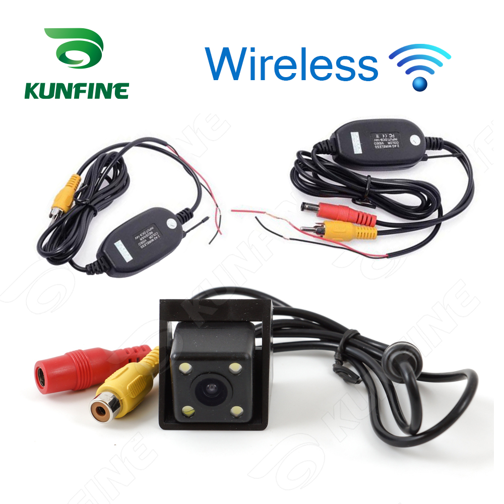 Wireless CCD Track Car Rear View Camera For SSANGYONG KORANDO 2014 Parking Assistance Camera Trackline Night Vision LED Light image