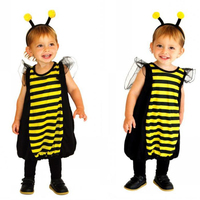 Children Baby Costume Ladybug Halloween Cosplay Costume Kids Fancy Insect Animal Playful Bees Costume Suitable For