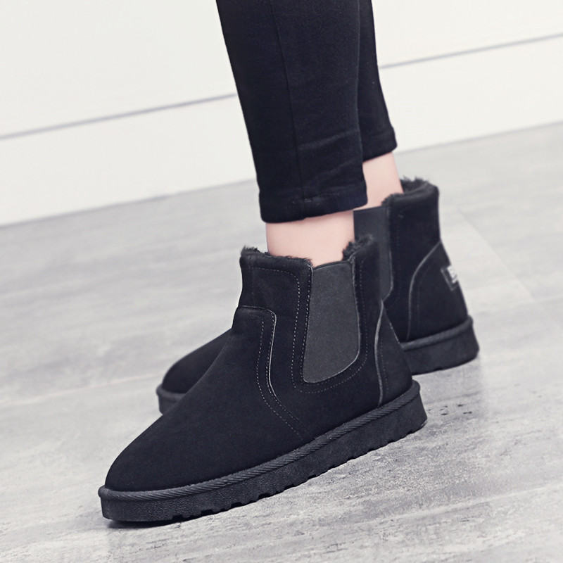 Peluche Casuales Moda Invierno Sapatos De Hombre Nueva Otoño Negro Y Masculino Cómodo Hombres Zapatillas Zapatos Suave gris marrón qwtpgX