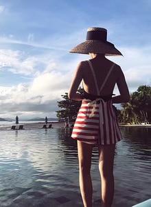 Image 2 - 01806 pineapple Decorative pattern summer  handmade  wind brim leisure beach  lady cap  women fedoras hat wholesale