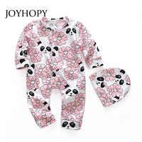 Peleles de bebé que cubre traje, ropa de una pieza para recién nacidos, bonito panda impreso, trajes de dormir para bebé
