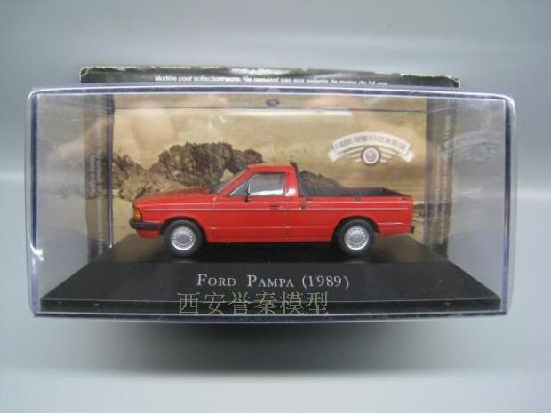 IXO 1/43 Scale Car <font><b>Model</b></font> Toys <font><b>Ford</b></font> Pampa 1989 Diecast Metal Car <font><b>Model</b></font> Toy For Collection,Gift,Kids,Decoration image