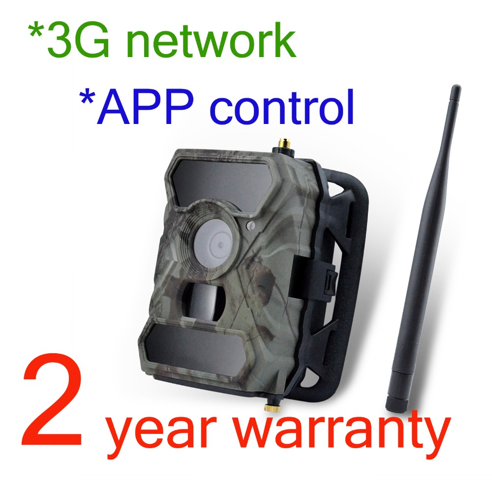 Willfine 3.0CG 3G Trail Cameras SMTP Wildlife Scouting Camera 3G Hunting Camera with APP control 3G Forest Cameras 3g hunting trail camera with metal safety box and solar charger