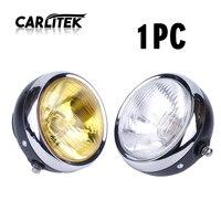CARLitek Yellow White Len Led Moto Headlamp Bulb 12V Motorcycle Parts Running Lighting Source Spot Lights Waterproof