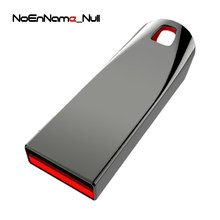 Noennamenull 64GB de Metal Pendrive USB Flash Drive de Alta Velocidade USB Stick 32GB Pen Drive Real Capacidade 16GB flash USB(China)