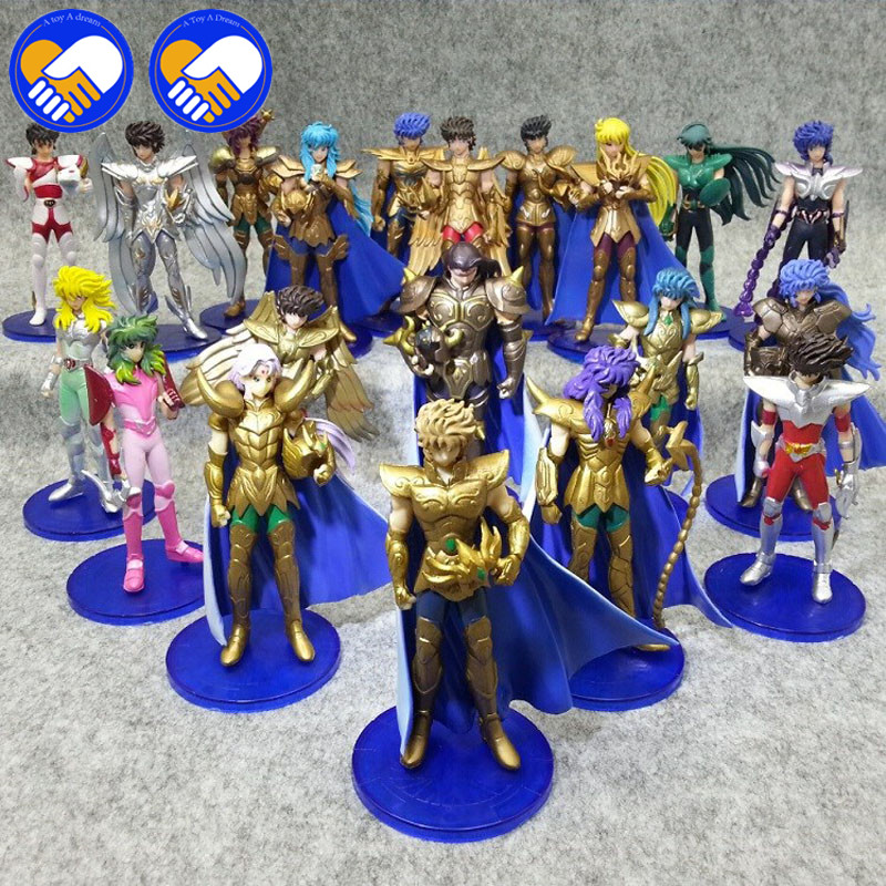 A TOY A DREAM 5pcs or 20pcs Saints of Seiya Shun The 1st To 4th Generation PVC Action Figures Collection Toys Doll Saints Seiya duncan bruce the dream cafe lessons in the art of radical innovation