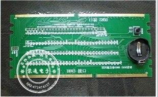 1PCS DDR2 DDR3 illuminated with light tester tester combo desktop
