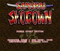 Samurai Shodown Game Cartridge Newest 16 bit Game Card For Sega Mega Drive / Genesis System