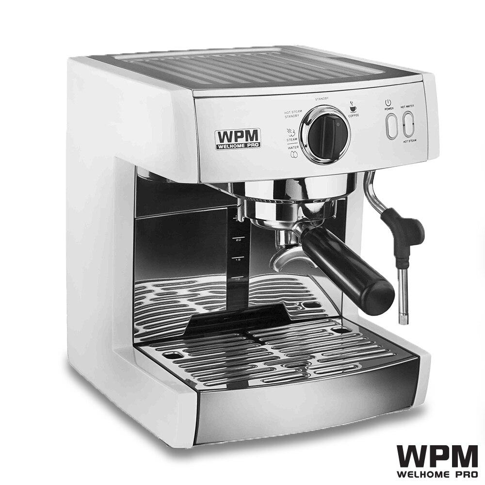 220 V-240 v professionnel simple pompe semi-automatique machine à café expresso machine à café Welhome KD 130 expresso