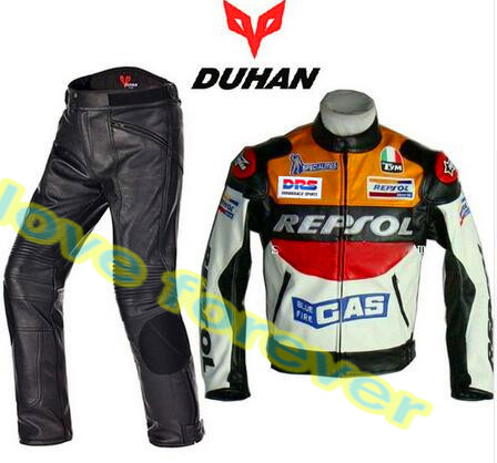 only VS02 PU leather jacket price Moto GP REPSOL Racing Leather Jacket DUHAN waterproof very high size big duhan moto gp motorcycle repsol racing leather jacket vs02 orange blue m l xl xxl 3xl good pu leahter made high quality fast