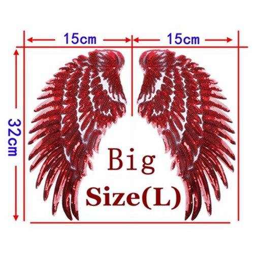1 Pair Red Big