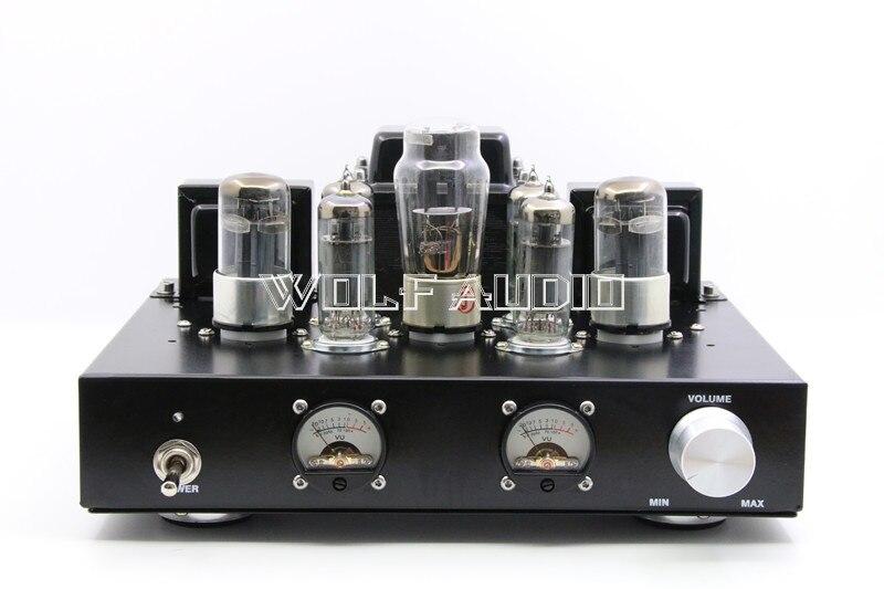 Finished HiFi 6H8C Push 6P1 Vacuum Tube Amplifier Class A ...