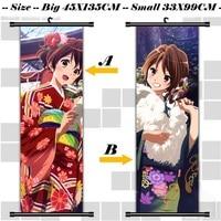 45X135CM Sound Hibike Euphonium Kyoto Animation Lolita Cartoon Anime Art Wall Picture Mural Scroll Cloth Canvas