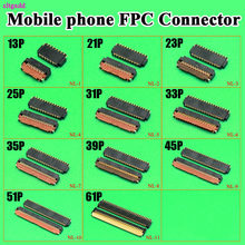 0.3 Pitch 13P 21 23 33 35 39P 45 51 61 71P FPC Connector FPC LCD display screen for Xiaomi Redmi note 4 for Motorola HTC Huawei(China)
