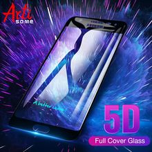 Artisome 5D Glass For Samsung Galaxy J7 J5 Prime J7 J5 J3 Pro 2017 Screen Protector For Samsung Galaxy A5 A7 A3 2017 Glass