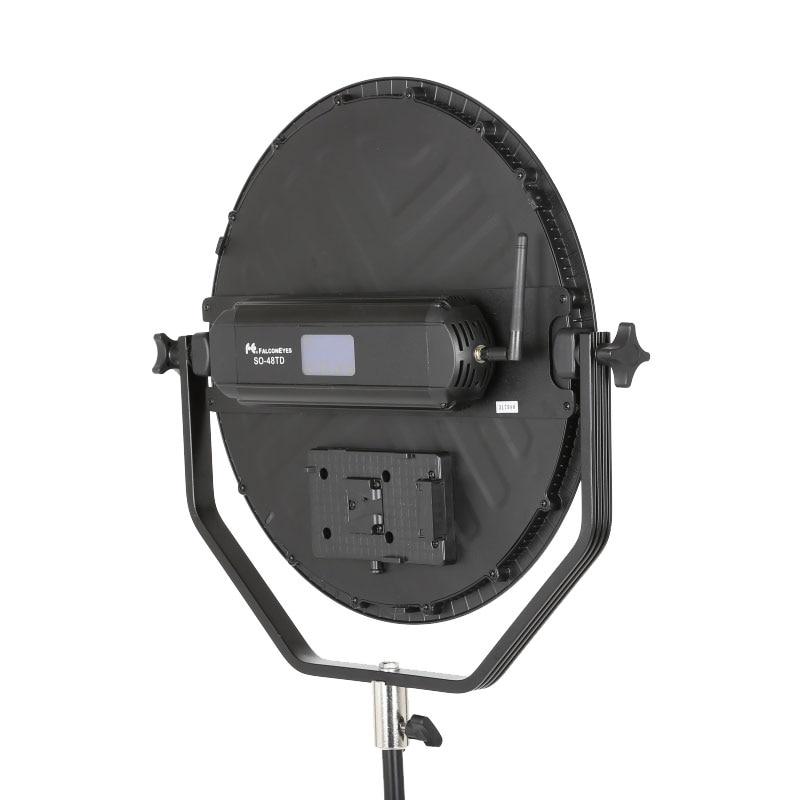 Falcon Eyes 48W Soft LED video svetloba zatemnitev 3000-5600K - Kamera in foto - Fotografija 3
