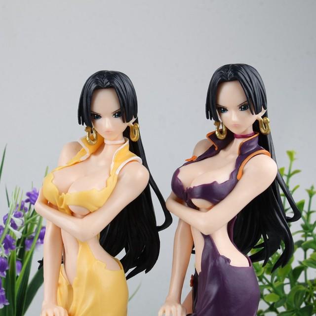 One Piece Anime Boa Hancock Female Emperor Action Figure Toy