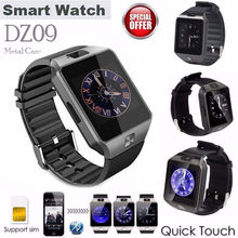 DZ09 Smartwatch Intelligent Smart Sport SIM Digital Electronics Wrist Phone Watch With Men For Apple Android Wearable Devices