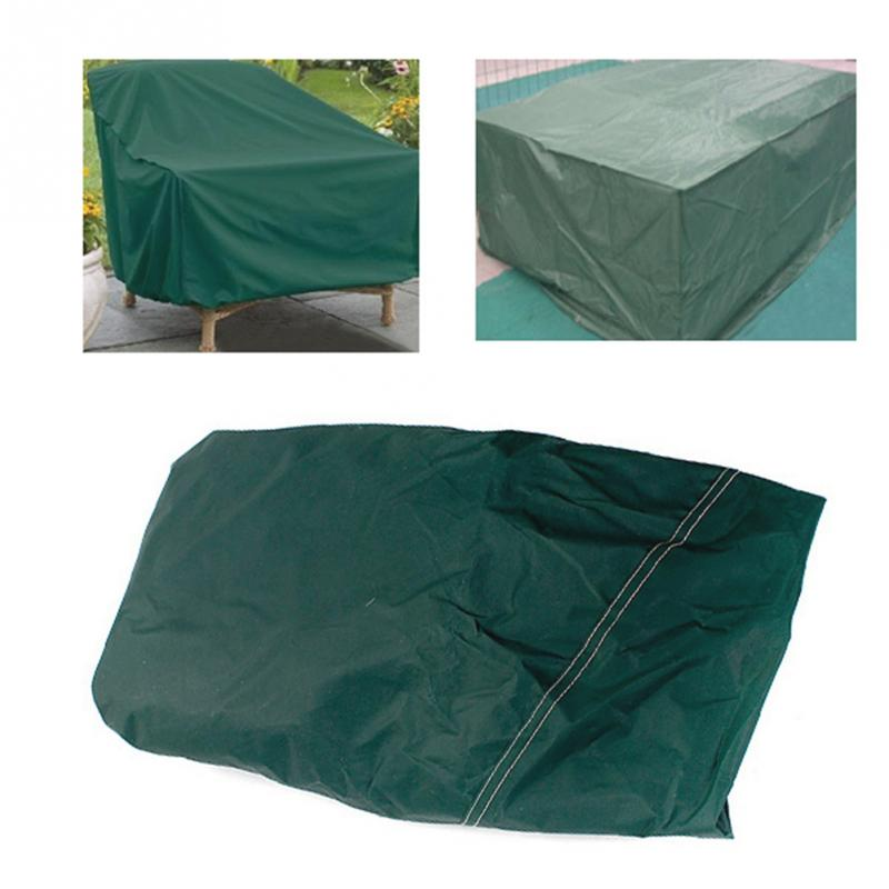 New Durable Breathable Square Shape RECT Indoor Outdoor Furniture  Waterproof Cover Patio Dining Coffee Table Chair Shelter
