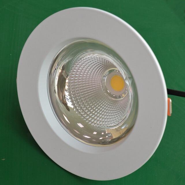 Бесплатная доставка AC 85-265 В LED Подпушка фонари удара 12 Вт 15 Вт 20 Вт высокое Мощность LED светильники встраиваемые потолочные Светильники + Мощ...