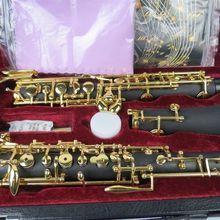 Полуавтоматический композитный деревянный концертный oboe, позолоченный C Ключ