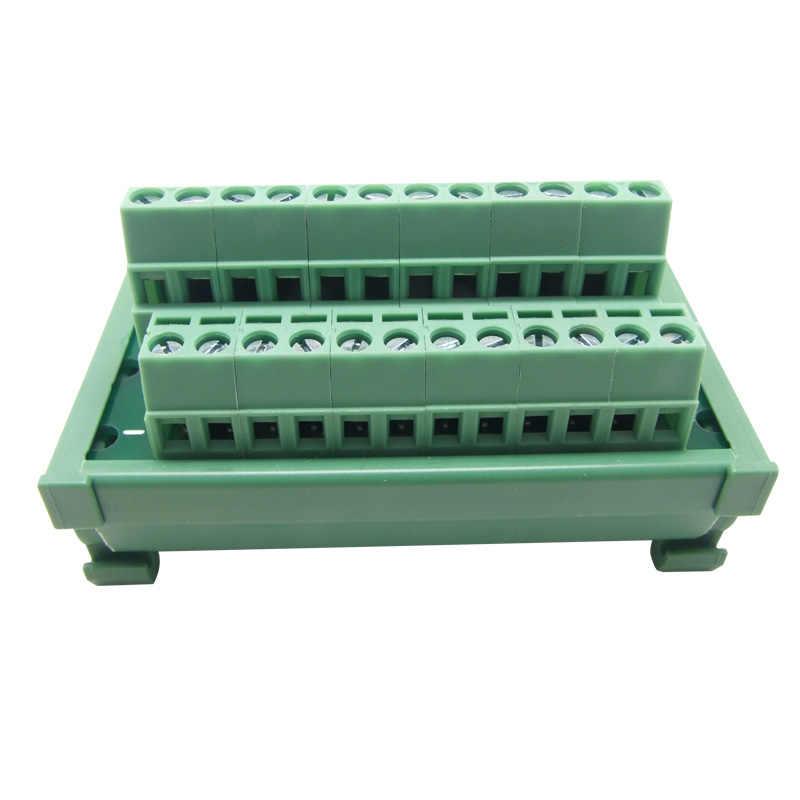 DIN Rail Mount power supply distribution terminal blocks splitter board  Power Distribution Module board