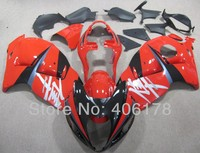 Free Shipping Kit For Suzuki GSXR1300 97 07 Hayabusa 1996 2007 Red And Black Motorcycle Bodywork