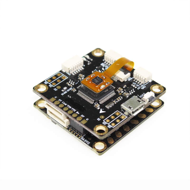 HAKRC F4V3 Flytower F4 Flight Controller OSD Built-in PDB BEC & 30A BLHeli_S 4 IN 1 ESC For RC Models Multicopter Spare Parts emax f4 magnum tower parts bullet 30a 4 in 1 blheli s esc 2 4s built in current sensor for rc multicopter models motor frame
