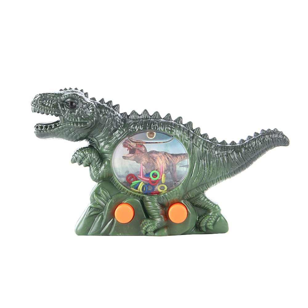 Dinosaur Game Water Ring Toys Funny Play Handheld Control Kids Children Educational Adult Interactive Toy Games Intellectual