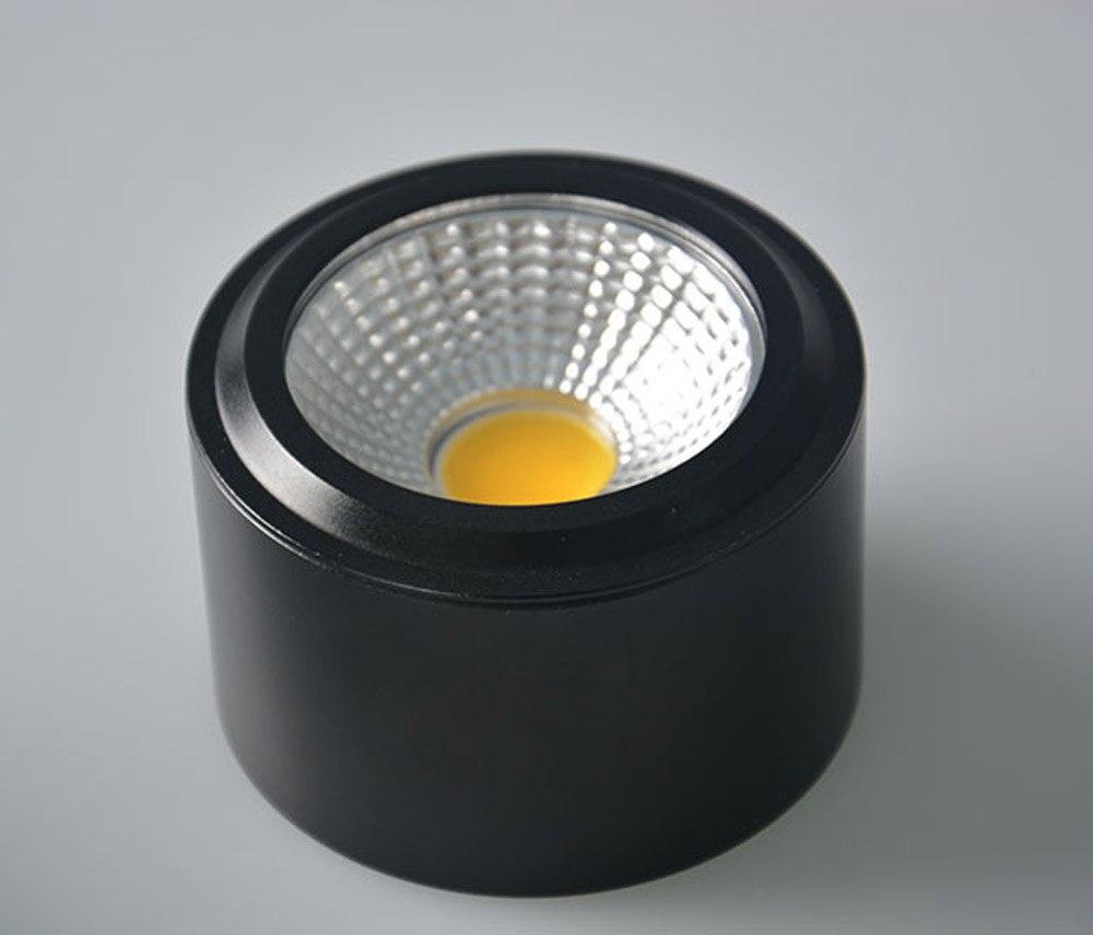 10 Stücke Cob 3 Watt 5 Watt 7 Watt 10 Watt Led Downlight Oberfläche Montiert Deckenstrahler Downlight Hohe Lumen Home Leuchten Ac110/220 V