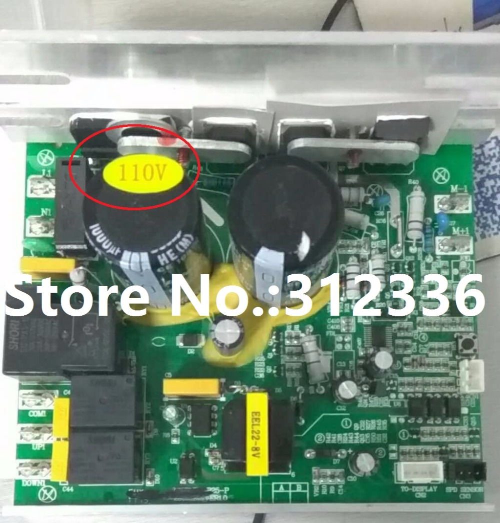US $184 8 12% OFF|Free Shipping 110V Motor Controller BH 6425 motherboard  user connection plate music playing board multimedia board parts-in Motor
