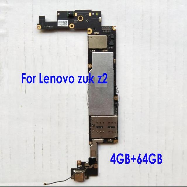 オリジナルのテストよくメインボード回路フレックスケーブルレノボ ZUK Z2 ギガバイト 4 + 64 ギガバイトマザーボードカード手数料チップセット電話部品