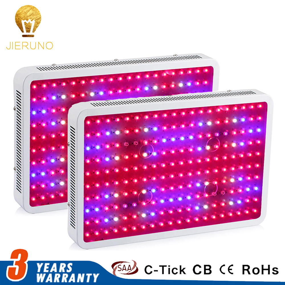 2PCS 2000W Grow light LED Grow Light 10W chips Full Spectrum For Indoor Grow Tent Aquarium Grow Lightning Plant Lamp Plant hot sale 12w led plant grow lamp high bright appliable for indoor planting grow box grow tent lighting long lifespan