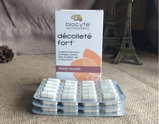 França Biocyte realce natural do peito cápsulas - sem hormônios - meninas mama - rápido mama mama cápsulas - seguro