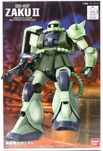 Bandai Gundam 1/144 FG MS 06F ZAKU II Mobile Suit Action Figures Assemble Model Kits toy