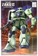 Bandai combinaison Gundam 1/144 FG MS 06F ZAKU II, ensemble Mobile, figurines daction, ensemble de modèles, jouets