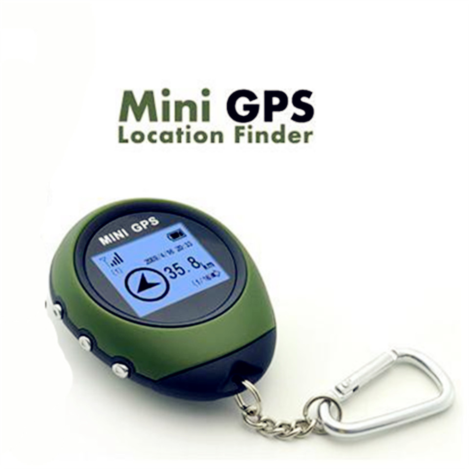 Mini GPS Tracker Device Portable Handheld GPS locator Navigation Compass for Outdoor Sport and Travel