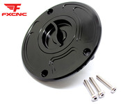 For Kawasaki ZX 6RJ1 2 ZX 6R 636 A1P All Years CNC Aluminum Motorcycle Billet Gas Cap Tank Fuel Cover Motorcycle Fuel Cover