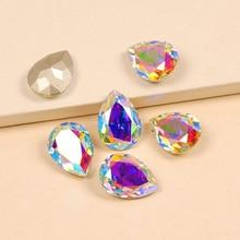 YANRUO 4320 Drop Super Quality AB Sew On Claw Rhinestones Stones Glass Crystal AAAAA For rhinestones Phone Stickers