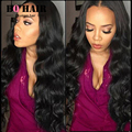 BQ Hair Products Brazilian Virgin Hair Weave 4 Bundles 7A Brazilian Body Wave Human Hair Extension Soft & Healthy #1B