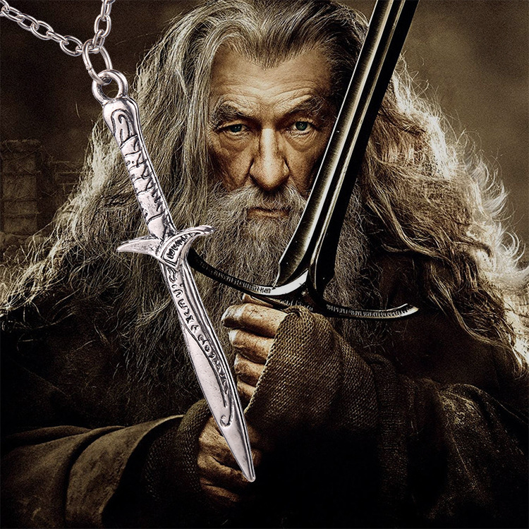 The Hobbit Sword Necklace Bilbo Baggins Sting Sword