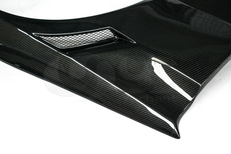 2006-2007 Mitsubishi Lancer Evolution 9 Voltex Cyber Version Style +30mm Rear Fender Panels CF (13)