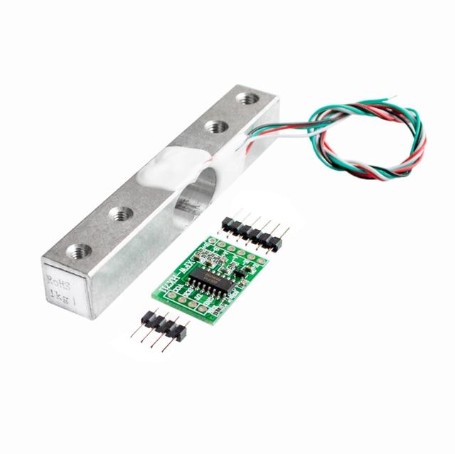 Digitale Wägezelle Gewichtssensor 1 KG Tragbare Elektronische ...