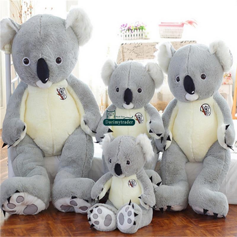 Dorimytrader Large Plush Animal Koala Toy Huge Stuffed Cartoon